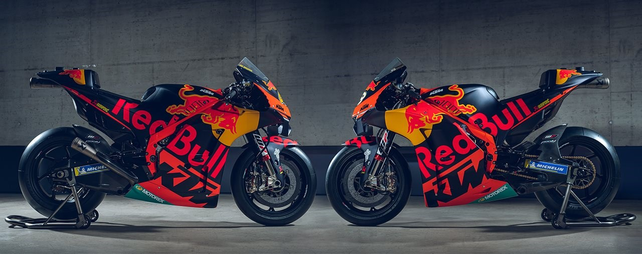 KTM präsentiert das MotoGP Team 2020