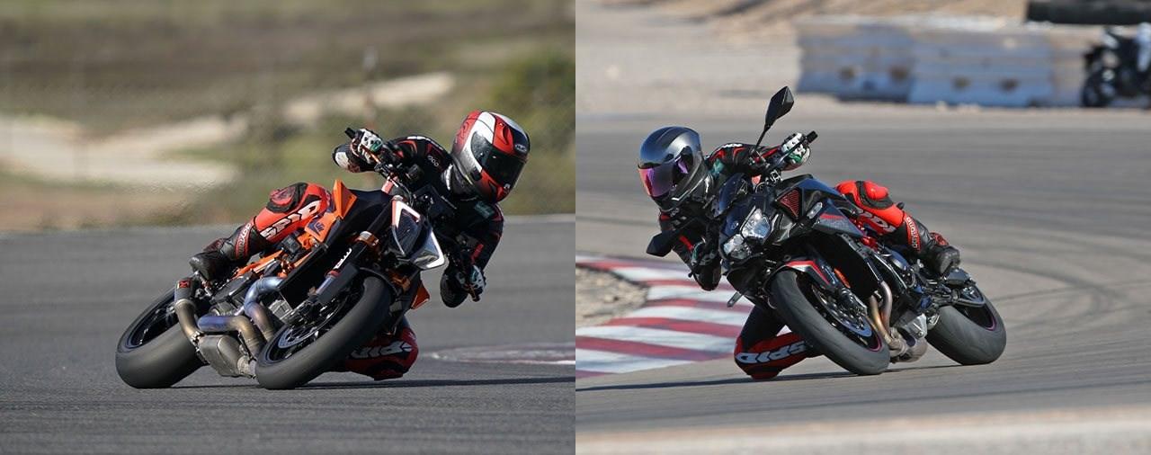 KTM 1290 Super Duke R vs. Kawasaki Z H2 2020