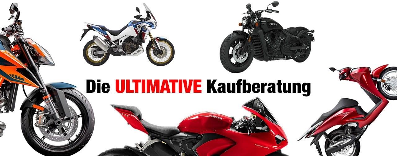 Welches Motorrad soll ich kaufen? - Die ultimative Kaufberatung