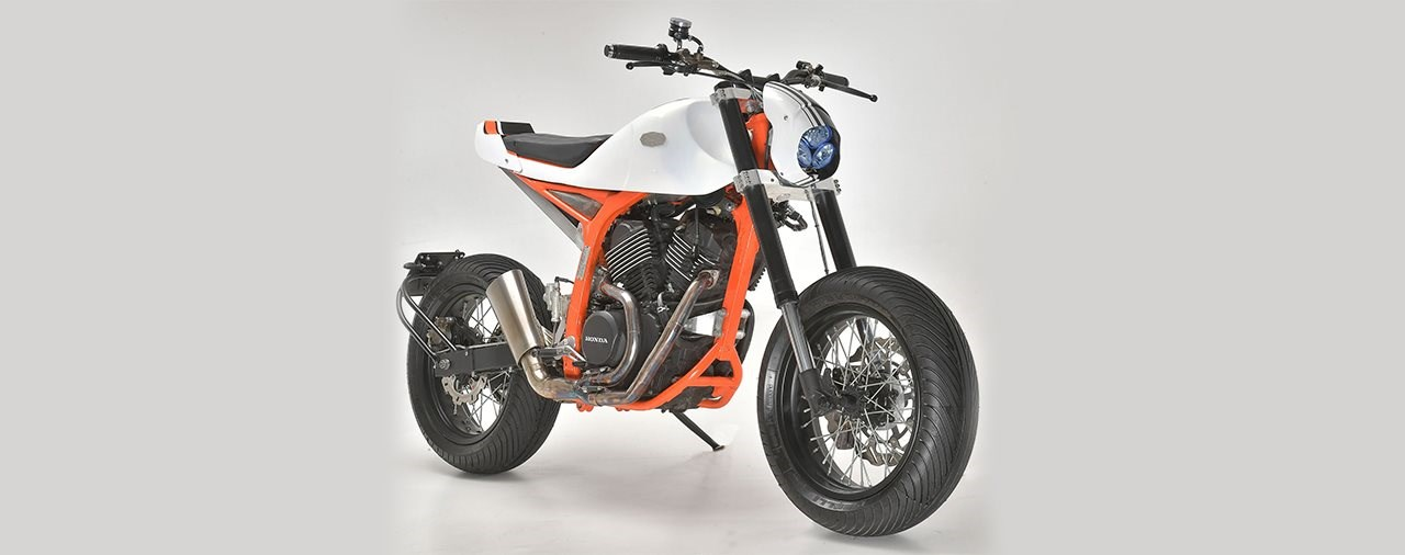 Honda Transalp 600 Cobra Custom Bike