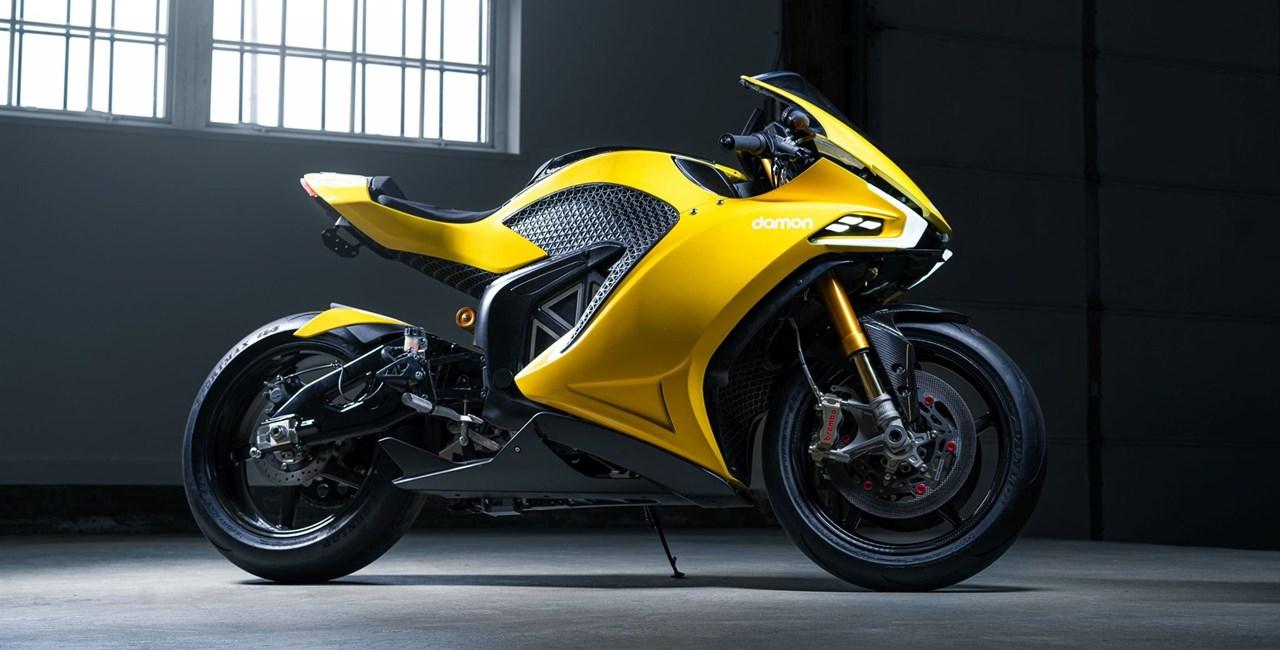 Damon Hypersport - Elektrobike mit über 300 km/h!