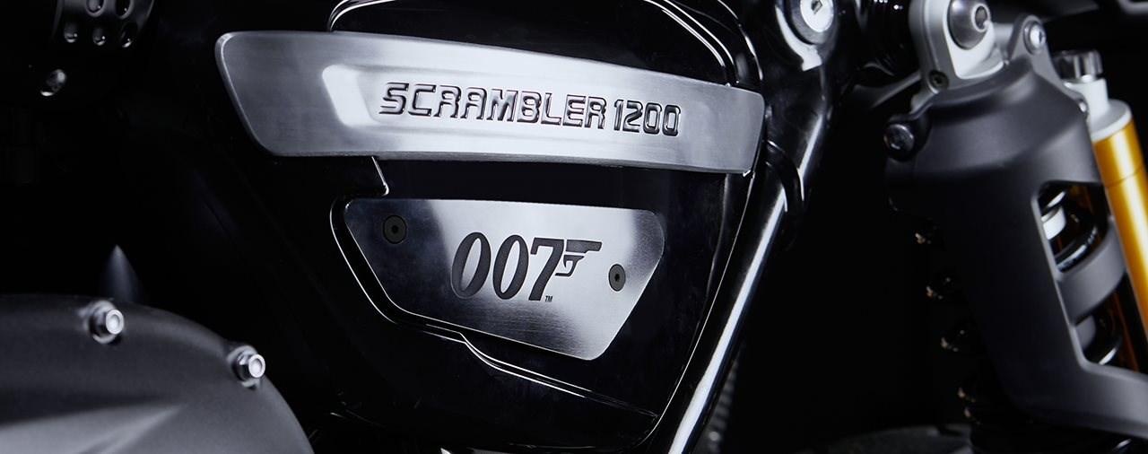 Das erste offizielle James Bond Motorrad ist da!