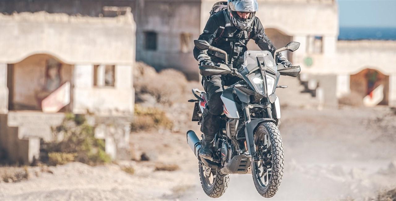 KTM 390 Adventure Test