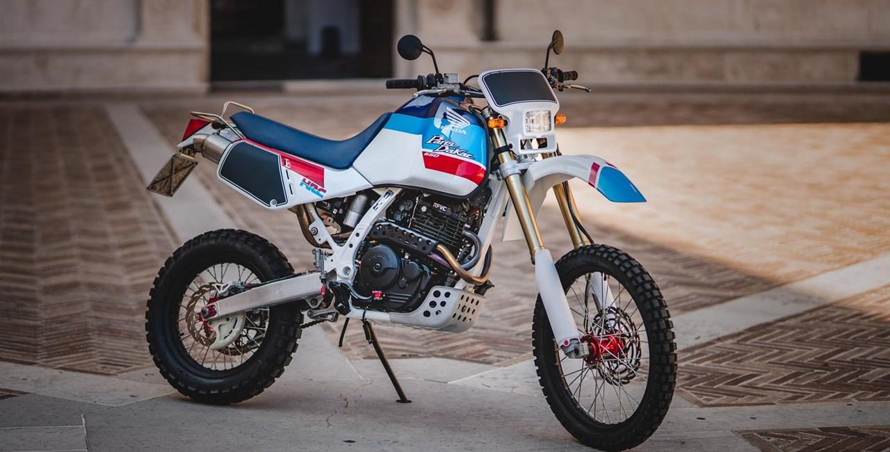 Honda Dominator Umbau von Mauro Gessi
