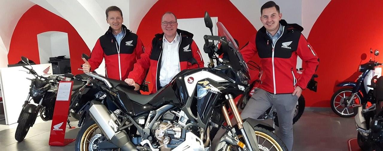 Autohaus Moriggl jetzt auch mit Honda Motorrädern