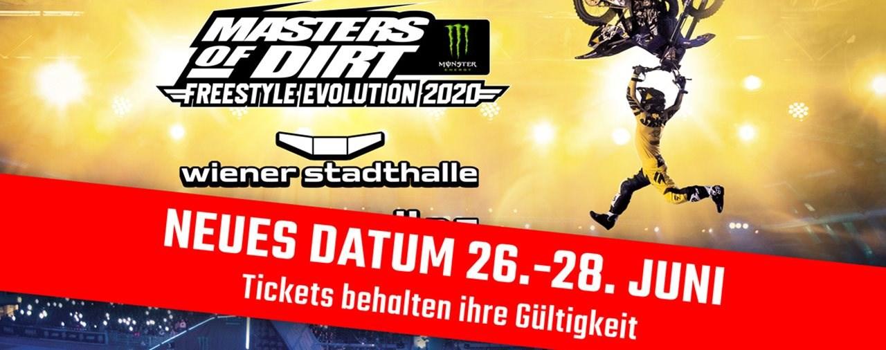 Masters Of Dirt 2020 Wien - VERSCHOBEN