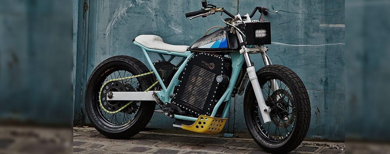 Jambon Beurre Elektro Custom Motorrad - Dirt Tracker unter Strom