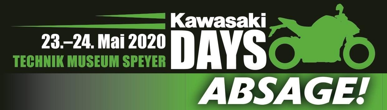 Kawasaki Days 2020 in Speyer abgesagt