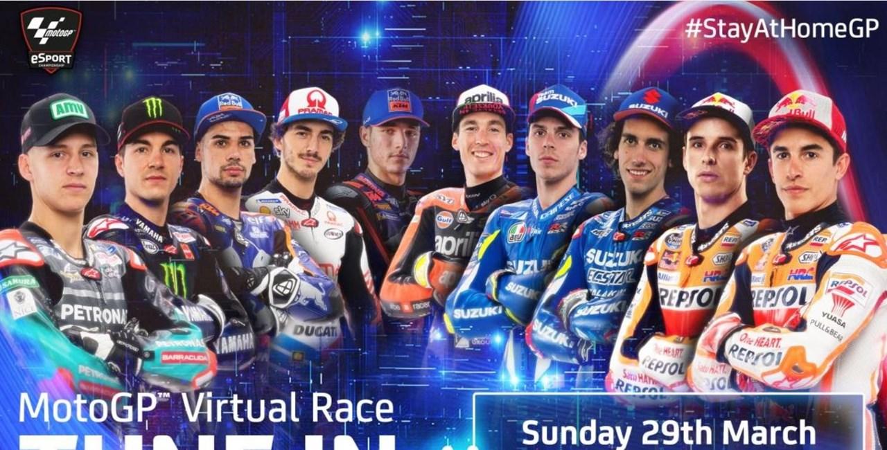 Die MotoGP fährt wieder - wenn auch nur virtuell!
