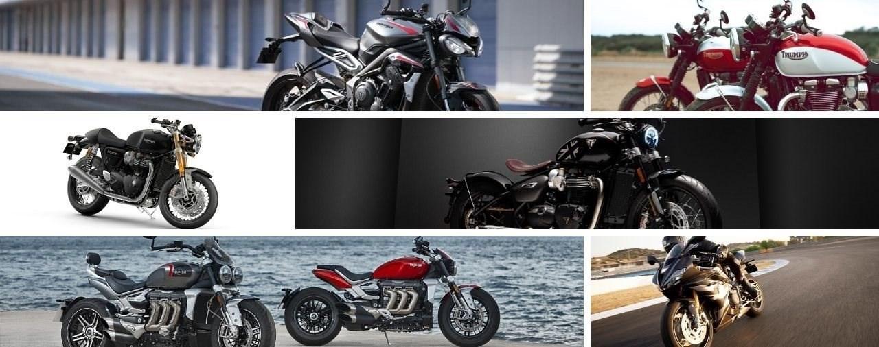 Kostenlose Triumph Motorräder für Ärzte und Pflegepersonal