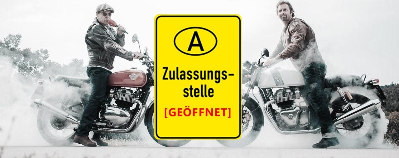 Motorrad-Zulassungen ab Ostern wieder möglich