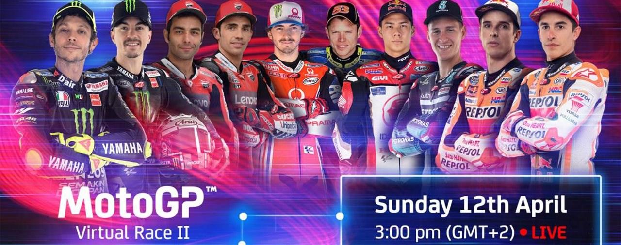 Die zweite Runde des virtuellen MotoGP findet am 12. April statt