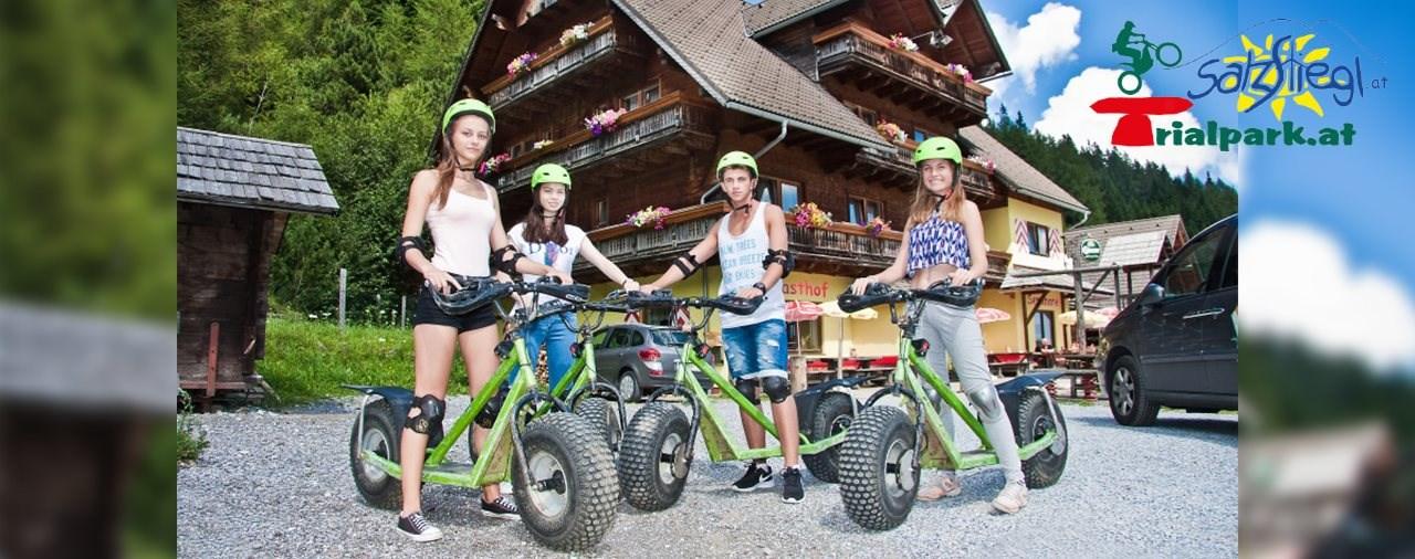 Trialpark Salzstiegl und Moasterhaus starten in die Saison