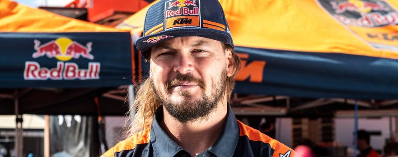 10 Fragen an Dakar Pilot Toby Price