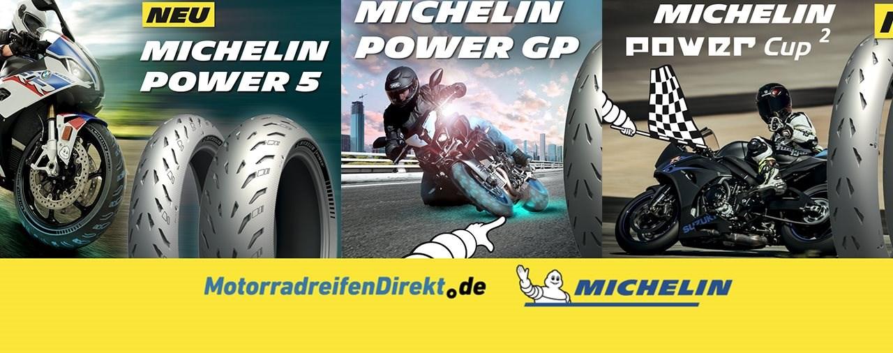 Michelin Power Reifen Aktion: zufrieden oder Geld zurück!