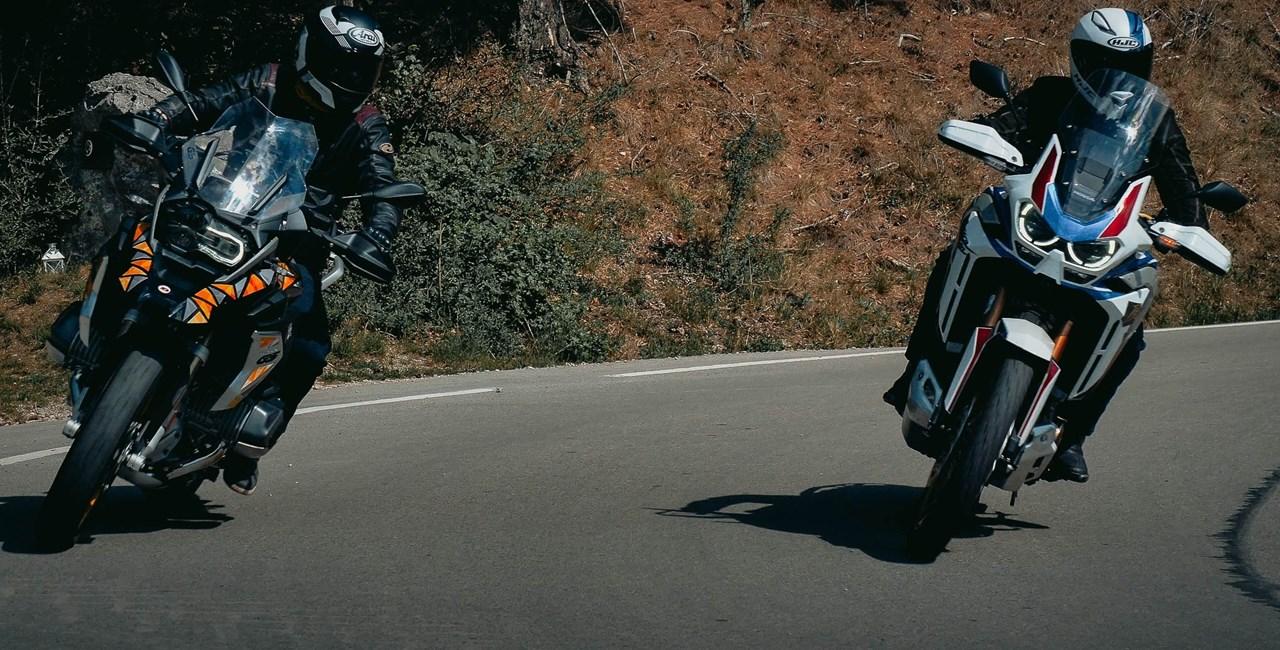 BMW R 1250 GS gegen Honda Africa Twin Adventure Sports 2020