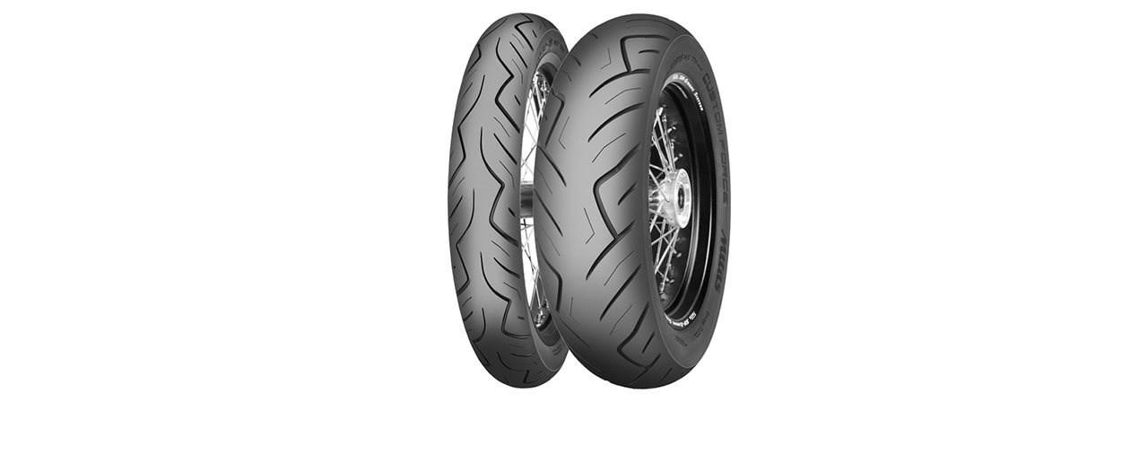Fette Reifen für den Custom-Cruiser - Mitas Custom Force