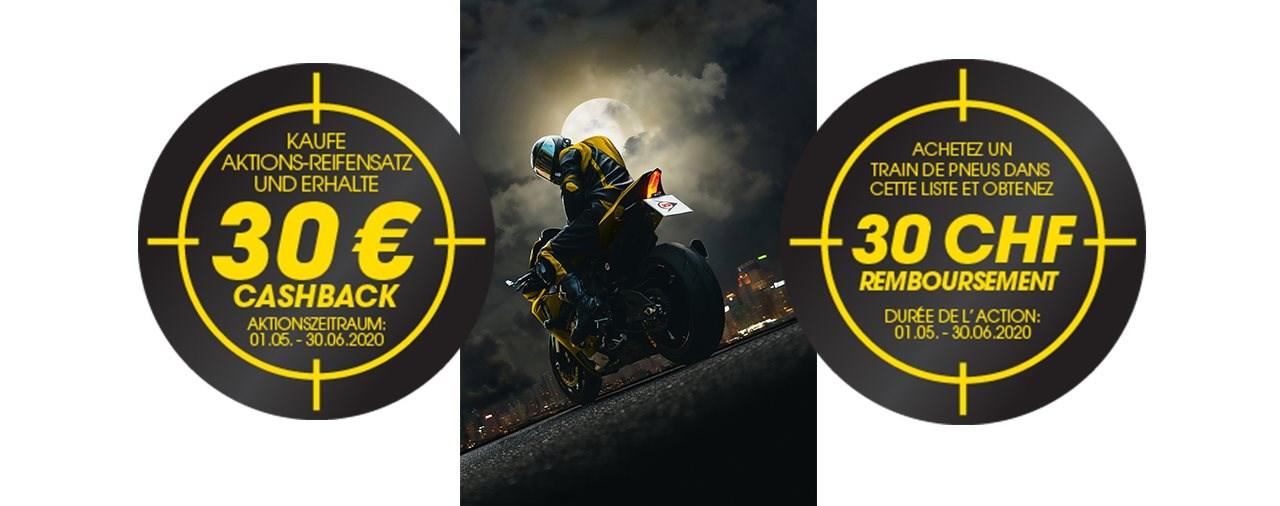 Dunlop startet 30 € / 30 CHF Cashback-Aktion