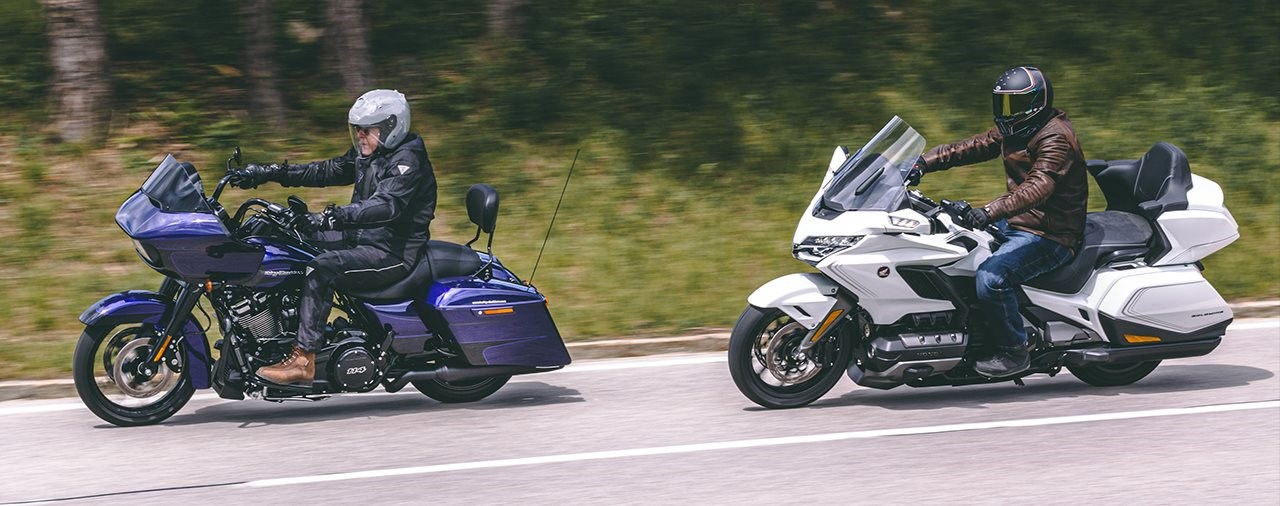 Harley-Davidson Road Glide Special vs. Honda Gold Wing Tour DCT