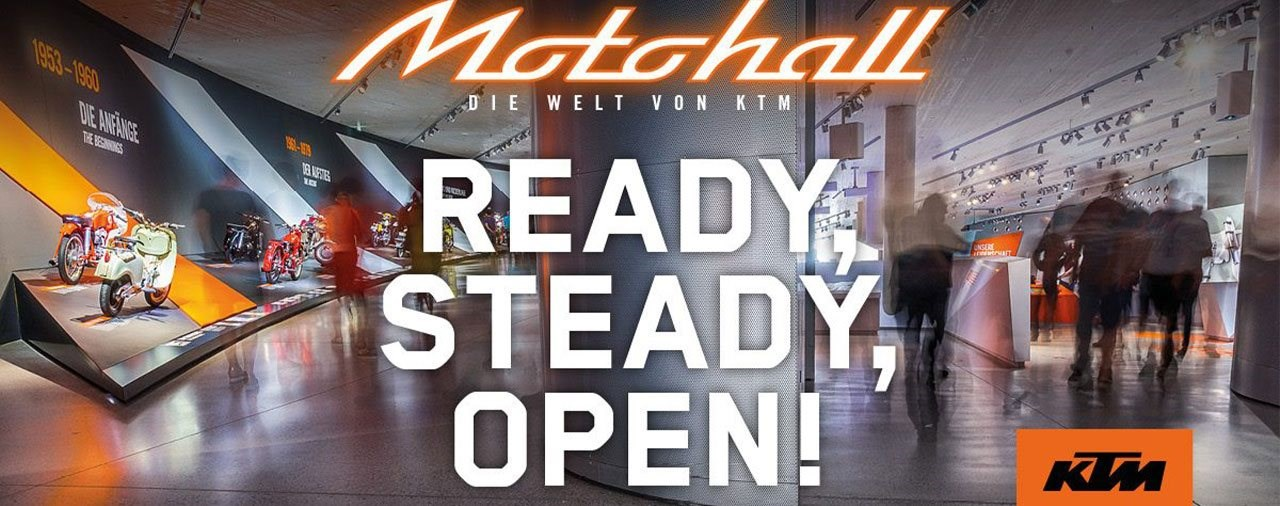Corona-Pause beendet - KTM Motohall öffnet wieder am 20.05