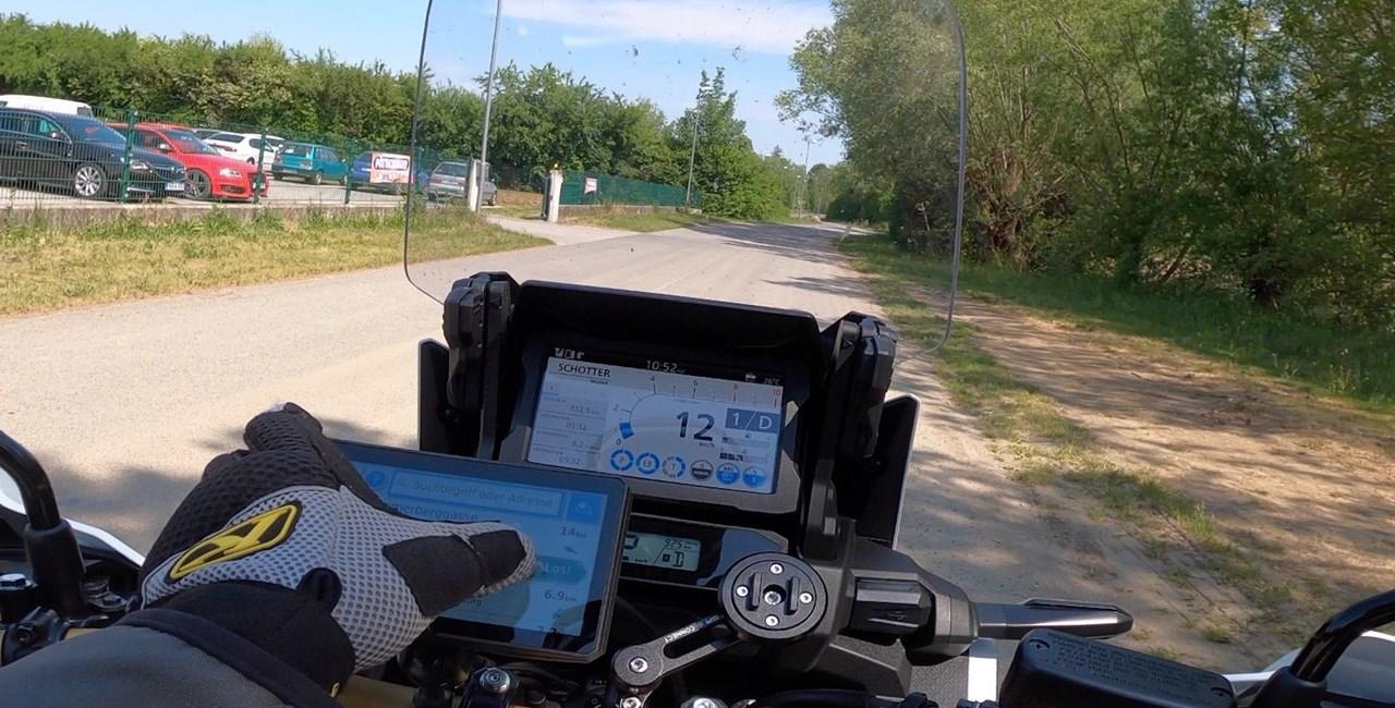 Garmin Zumo XT Motorrad Navi Test