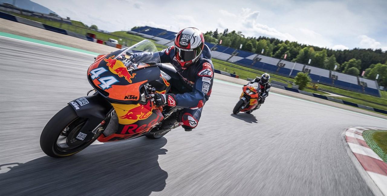 Moto2 Rennmaschinen am Red Bull Ring fahren!