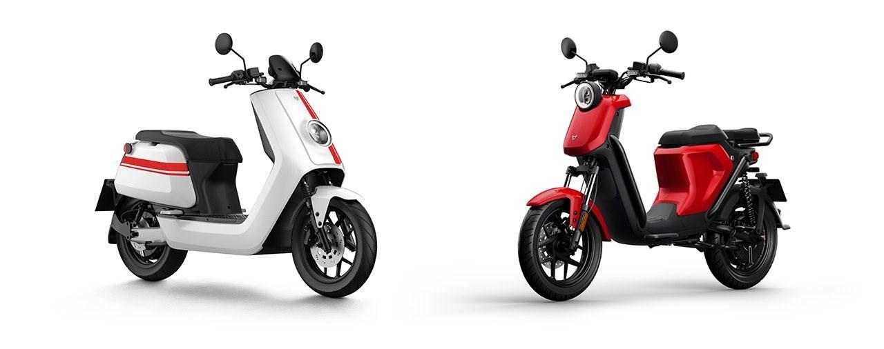 Neue NIU NQi GTs Sport / Pro und UQi GT Pro Elektroroller 2020