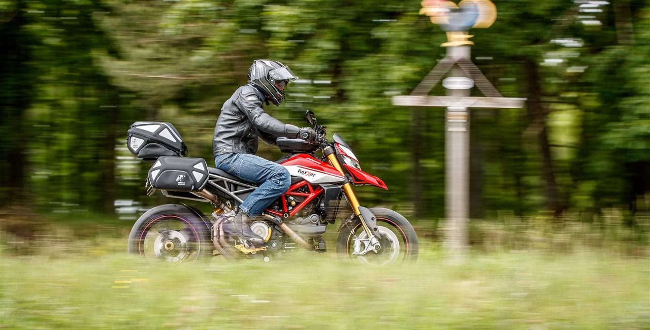Hepco&Becker Gepäcksystem für die Ducati Hypermotard 950/SP
