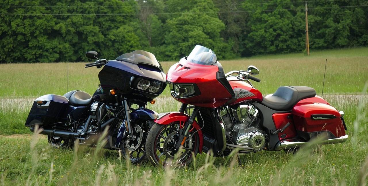 Indian Challenger vs. Harley-Davidson Road Glide Test 2020