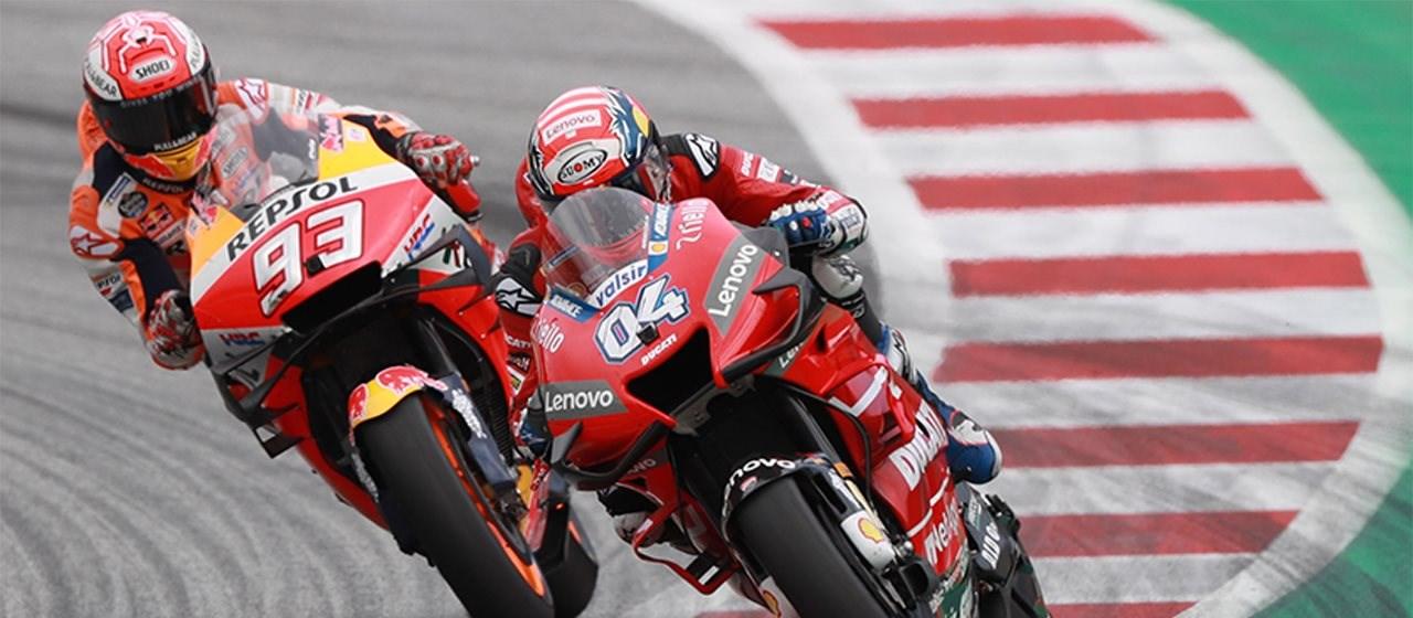 MotoGP-Stars geben zwei Mal am Red Bull Ring Gas!