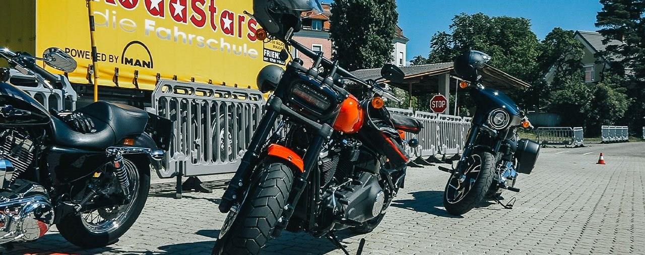 Harley-Davidson Wiedereinsteigertraining