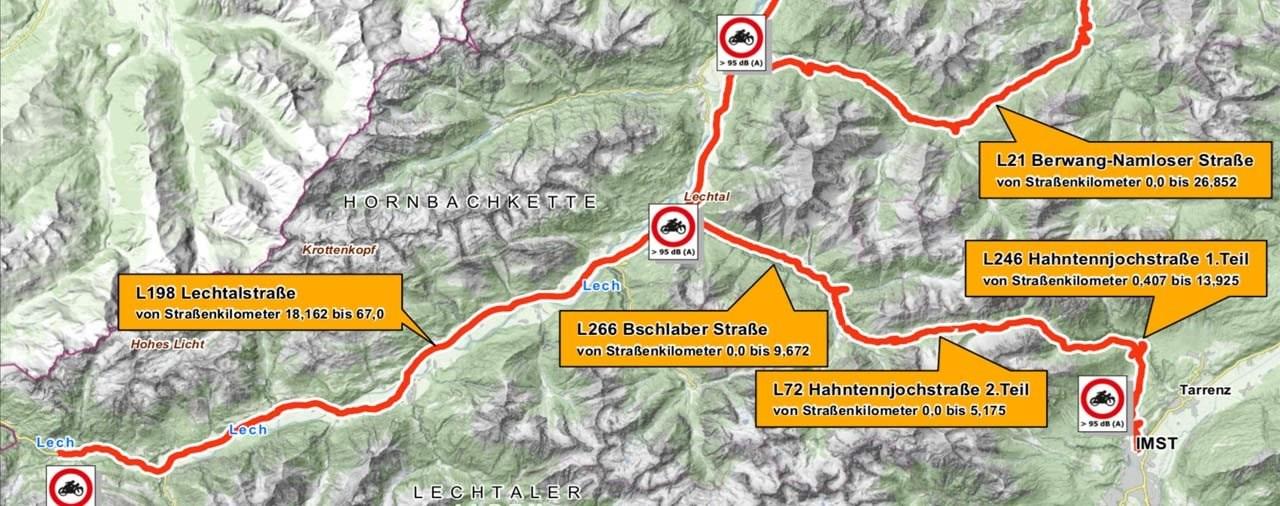 Oldtimer vom Motorrad Fahrverbot in Tirol ausgenommen