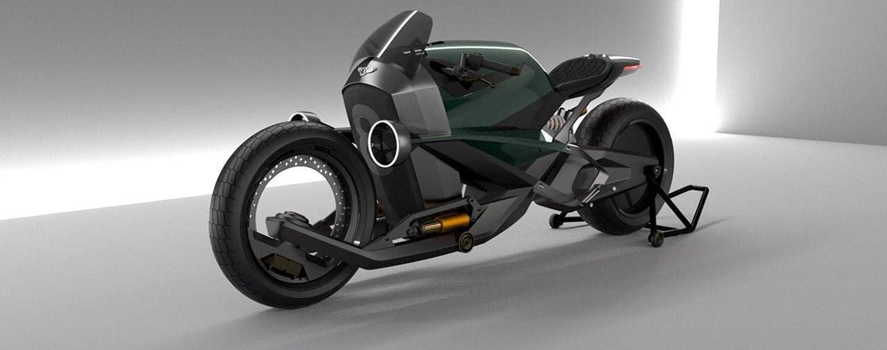 So könnte ein Bentley Motorrad aussehen
