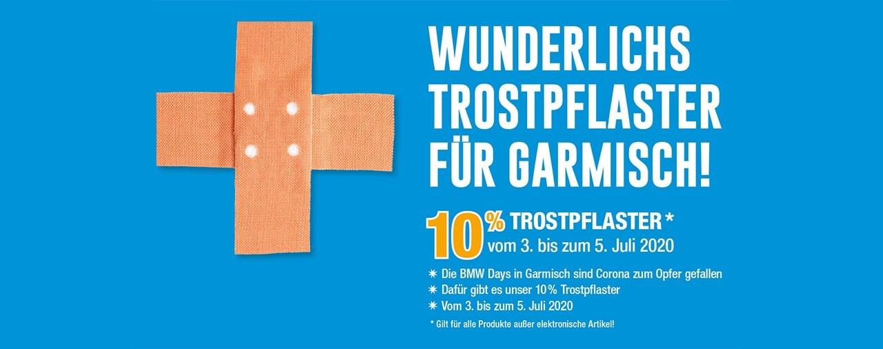 Wunderlich Trostpflaster für Garmisch und Virtuelle Show!