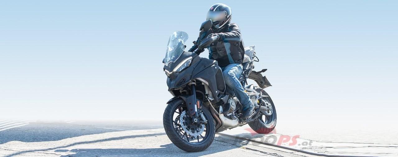 Ducati Multistrada V4 Erlkönig 2021
