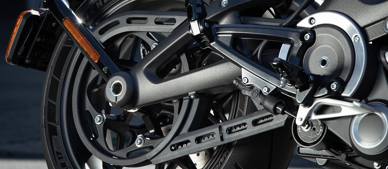 Harley-Davidson: Zahnriemen am Heck feiert 40. Geburtstag