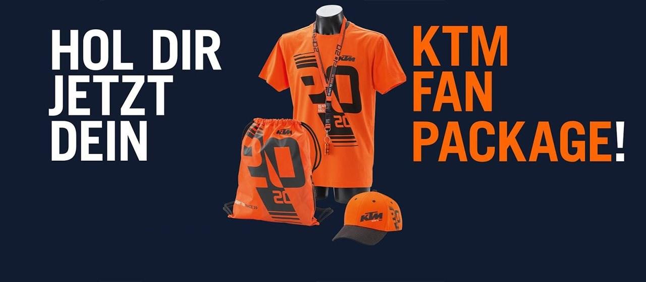 Limitiertes KTM Fan Package