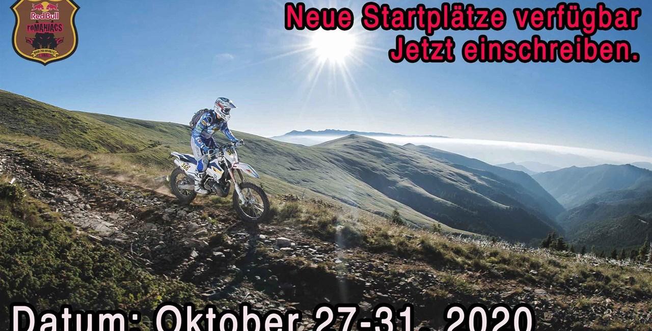 Red Bull Romaniacs 2020 - Neues Veranstaltungsdatum im Oktober