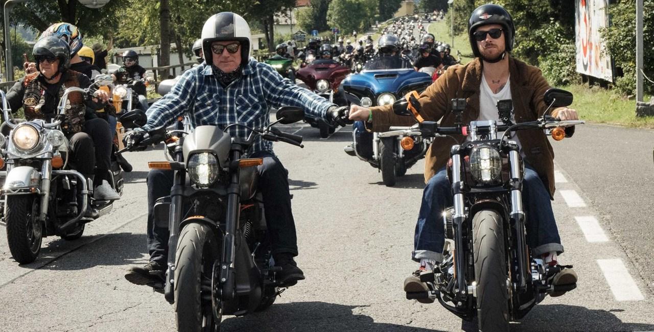 Motorrad Demo in München gegen Fahrverbote