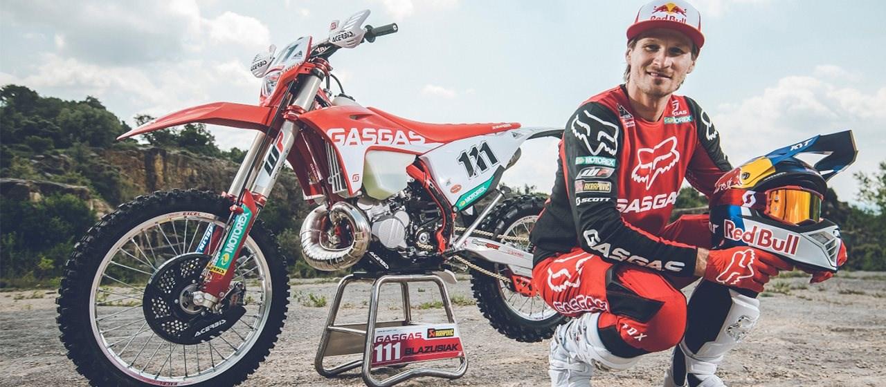 Taddy Blazusiak neu im Team von GASGAS