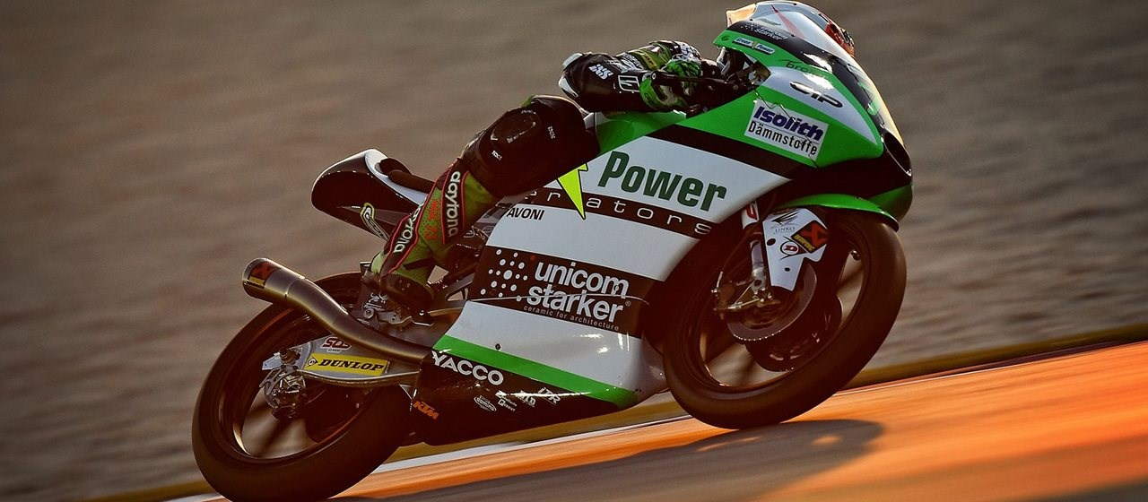 Maximilian Kofler zurück in der Moto3 nach Corona-Pause