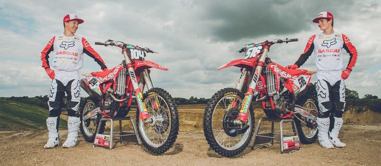 GasGas präsentiert die neuen MXGP und MX2 Motocross Factory Bikes