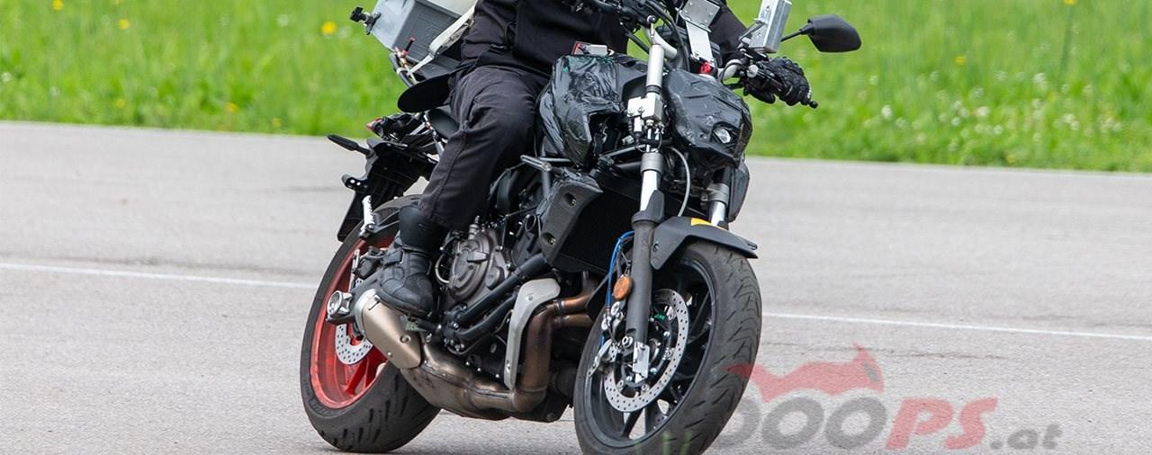 Yamaha MT-07 und Tracer 700 GT Erlkönig gesichtet!