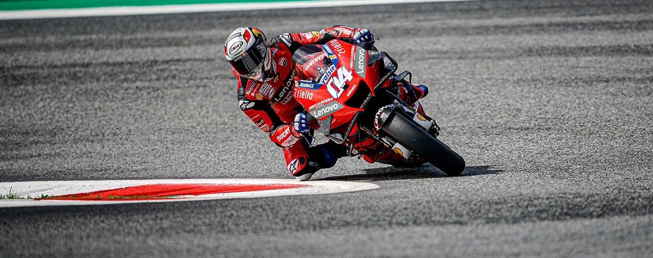Andrea Dovizioso gewinnt erneut die MotoGP am Red Bull Ring
