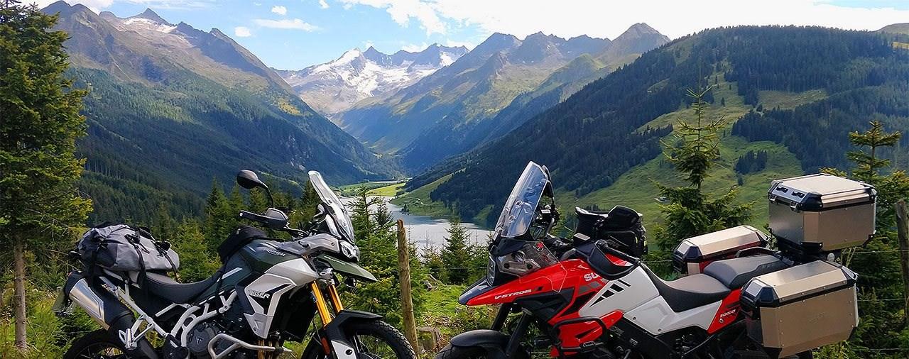 Motorradtour durch Österreich - Der Biker-Himmel vor der Haustür
