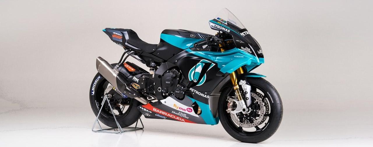 Offizielle PETRONAS Yamaha Sepang Racing Team YZR-M1 Replika 2020