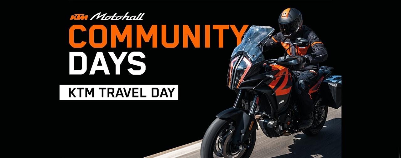 KTM TRAVEL DAY bei der Motohall am 12. September 2020