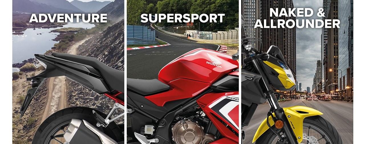 Neue Farben für Honda CB500-Baureihe 2020