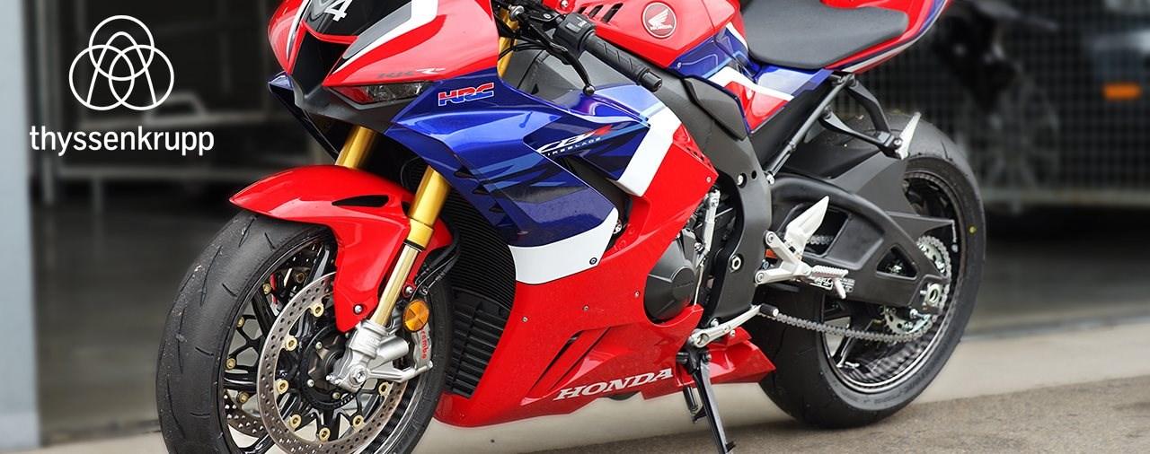 thyssenkrupp Felgen für die neue Honda CBR1000RR-R Fireblade