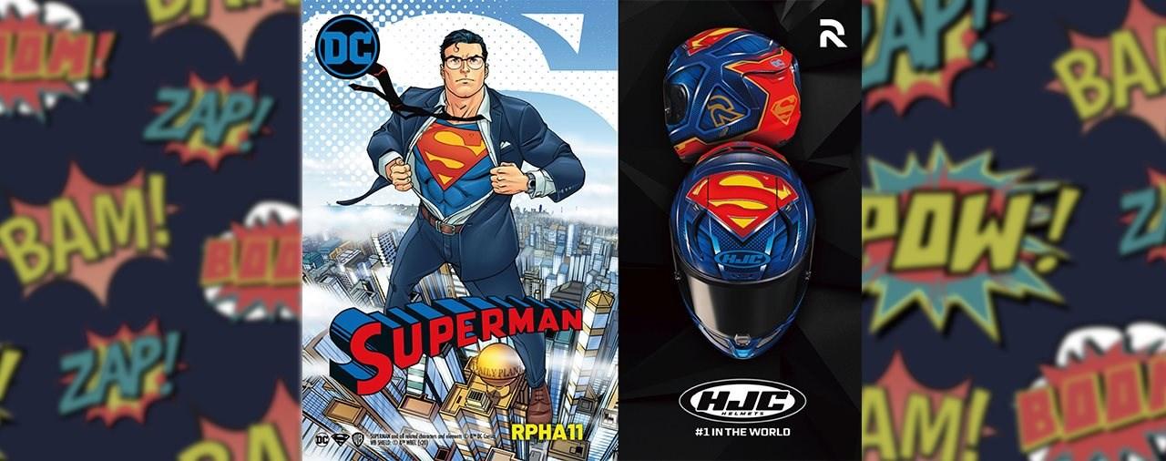 HJC RPHA 11 Superman Edition 2020